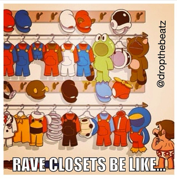 rave closet